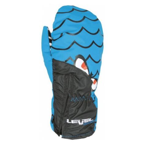 Level LUCKY MITT JR blue - Water resistant insulated gloves