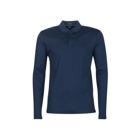 BOSS PIROL men's Polo shirt in Blue Hugo Boss