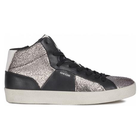Geox Warley Sneakers Black Silver