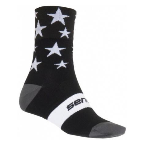 Sensor STARS black - Cycling socks