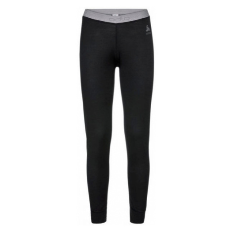 Odlo SUW BOTTOM PANT NATURAL 100% MERINO WARM black - Women's functional pants