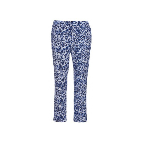 Blue women's elegant trousers
