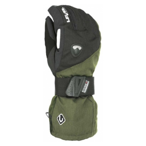 Level FLY CLAY black - Men's snowboard gloves