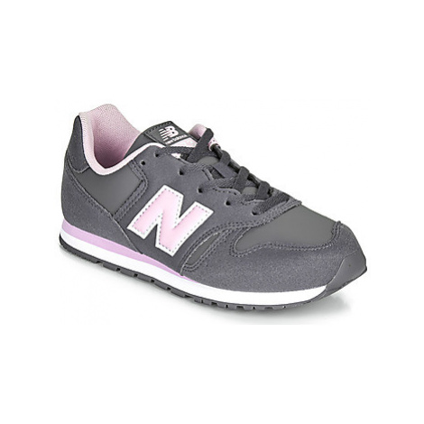 New Balance 373 girls's Children's Shoes (Trainers) in Grey