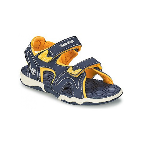 Timberland ADVENTURE SEEKER 2-STRAP SANDAL girls's Children's Sandals in Blue