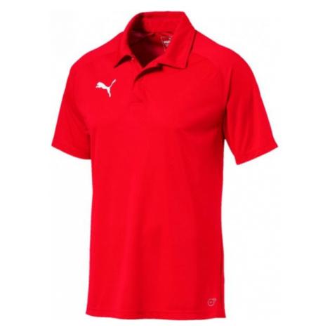 Puma LIGA SIDELINE POLO red - Men's polo