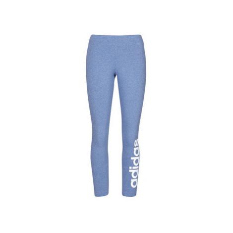 Blue women's sports leggings