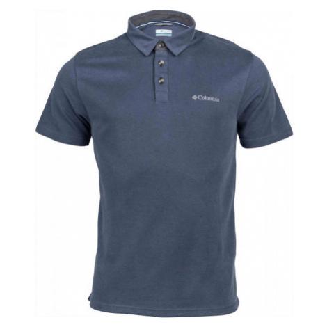 Columbia NELSON POINT POLO gray - Men's T-shirt
