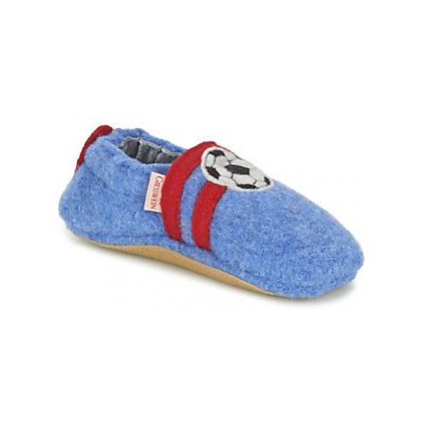 Giesswein Boll boys's Children's Slippers in Blue