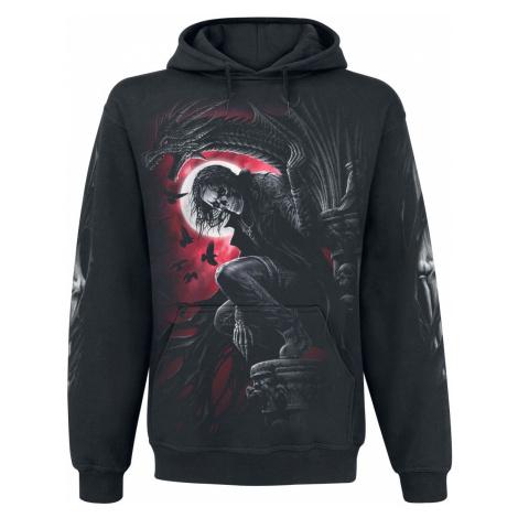 Spiral Night Stalker Hooded sweater black