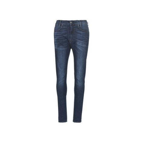 G-Star Raw D-STAQ MID BOY SLIM women's Skinny Jeans in Blue