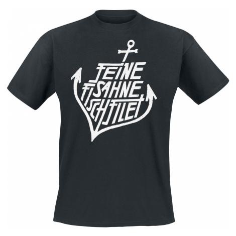 Feine Sahne Fischfilet - Anker - T-Shirt - black