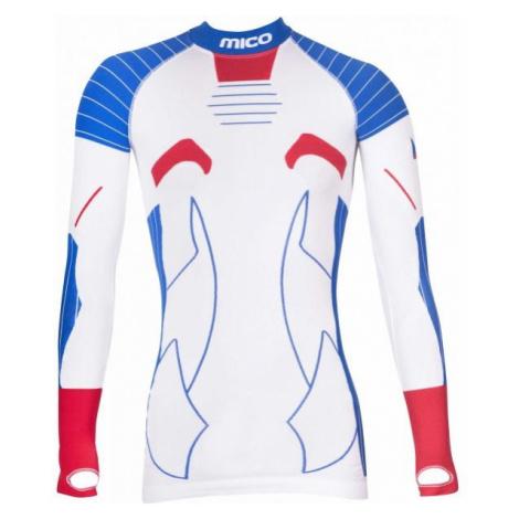 Mico NECK SHIRT OFFICIAL CZE white - Official CZE underwear