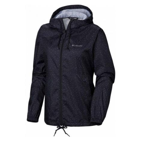 Columbia FLASH FORWARD PRINTED WINDBREAKER black - Women's windbreaker jacket