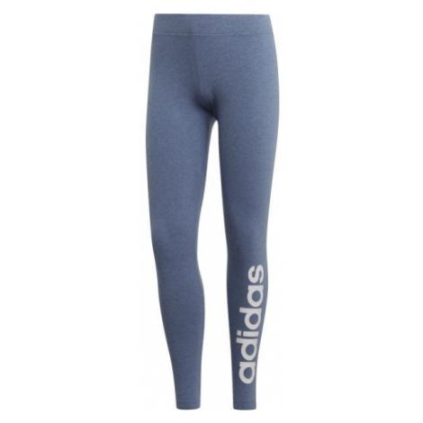 adidas E LIN TIGHT DENIM blue - Women's leggings