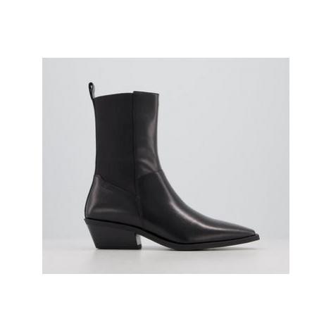 Vagabond Ally Calf Boot BLACK