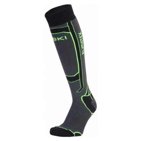 Klimatex ASPEN1 green - Women's ski knee socks