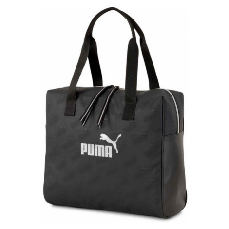 Puma CORE UP LARGE SHOPPER black - Women's handbag