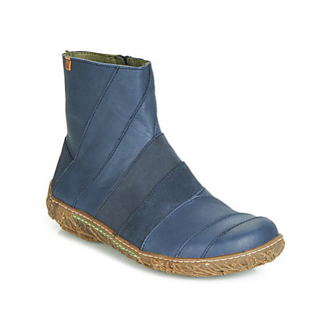 El Naturalista NIDO women's Mid Boots in Blue