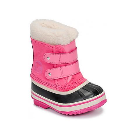 Sorel TODDLER 1964 PAC STRAP girls's Children's Snow boots in Pink