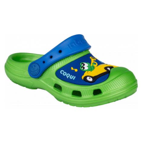 Coqui CROAKY green - Kids' sandals