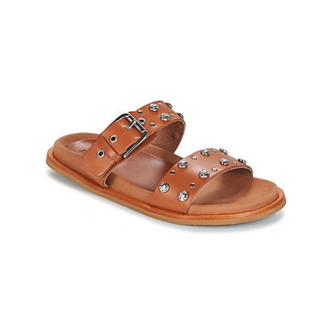 Bunker PICA women's Mules / Casual Shoes in Brown
