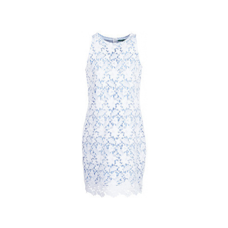 Benetton ROBY women's Dress in White United Colors of Benetton
