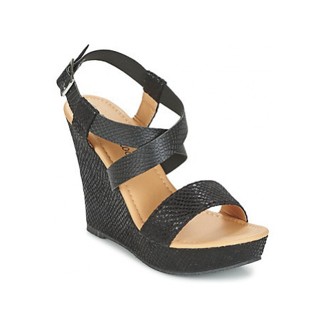 Moony Mood EMIRIA women's Sandals in Black