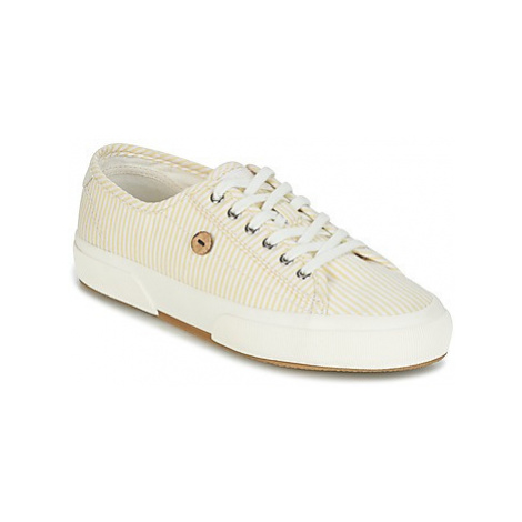 Faguo BIRCH COTTON women's Shoes (Trainers) in Yellow