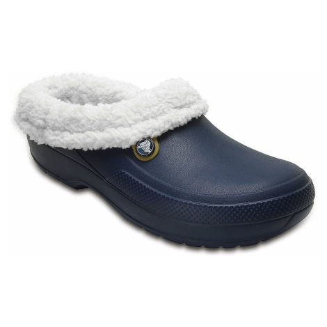 shoes Crocs Classic Blitzen III Clog - Navy/Oatmeal
