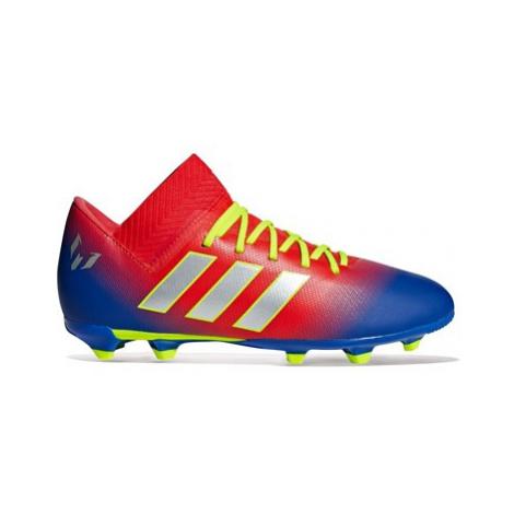 Adidas Nemeziz Messi 18.3 Firm Ground Football Boots - Red - Kids