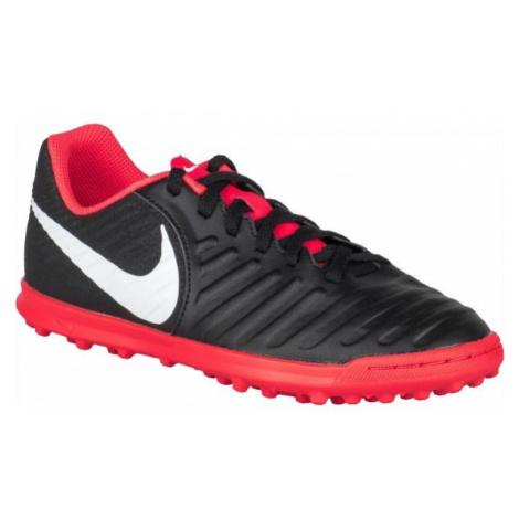 Nike JR TIEMPO LEGENDX 7 TF black - Children's turf football boots