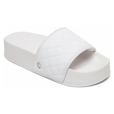 shoes DC DC Slide Platform SE - WS4/White/Silver - women´s