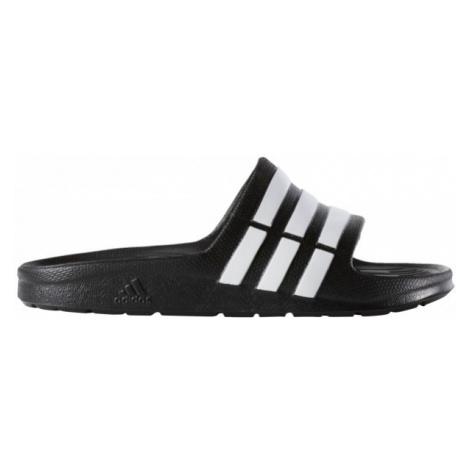 adidas DURAMO SLIDE K black - Children's slides