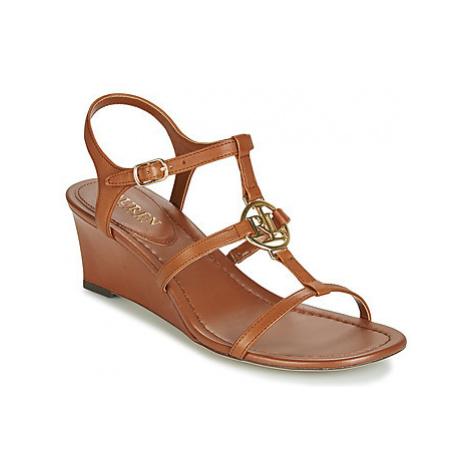 Lauren Ralph Lauren ELINA women's Sandals in Brown