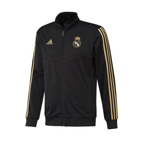 Real Madrid Training PES Tracksuit - Black Adidas