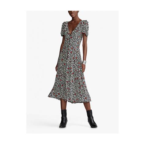 Polo Ralph Lauren Poppy Print Dress, Multi