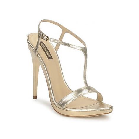 Roberto Cavalli RDS736 women's Sandals in Gold
