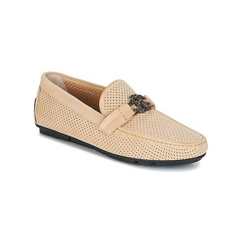Roberto Cavalli 4217 men's Loafers / Casual Shoes in Beige