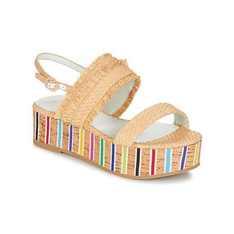 Mellow Yellow BAHINE women's Sandals in Beige