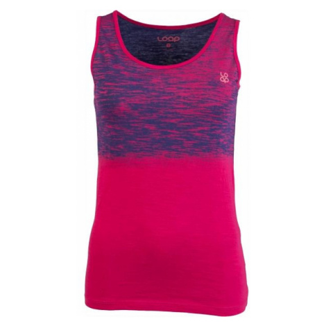 Loap BLUSILA pink - Women's tank top