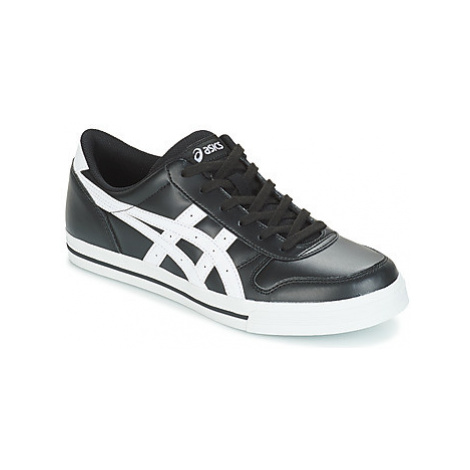 Asics AARON LEATHER men's Shoes (Trainers) in Black