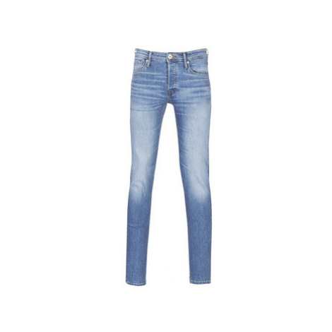 Jack Jones JJIGLENN men's Skinny Jeans in Blue Jack & Jones