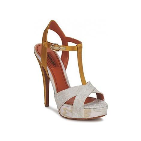 Missoni TM30 women's Sandals in Gold