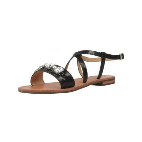 Geox D SANDAL women's Sandals in Black