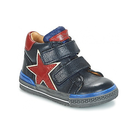 Acebo's CHOYUNA boys's Children's Shoes (High-top Trainers) in Blue