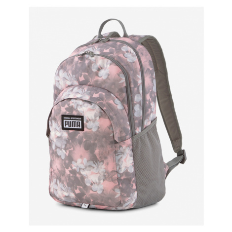 Puma Academy Backpack Pink Grey