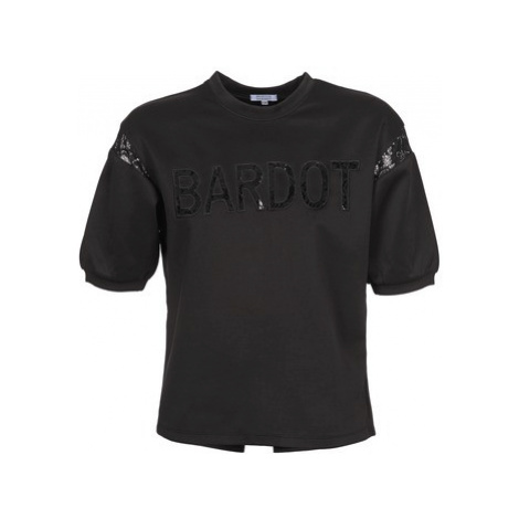 Brigitte Bardot ANDREE women's Sweatshirt in Black