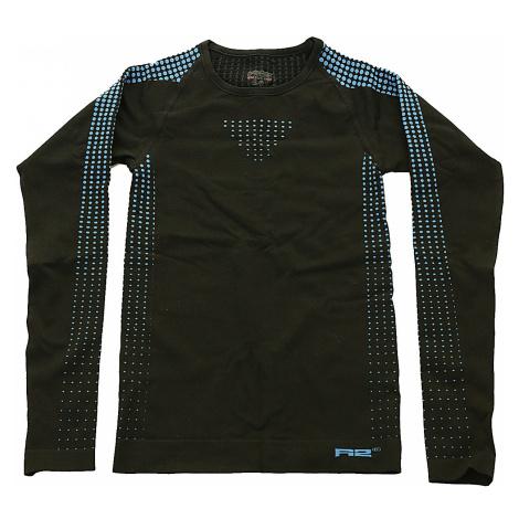 T-Shirt R2 Dots LS - ATF307A/Black/Blue - boy´s