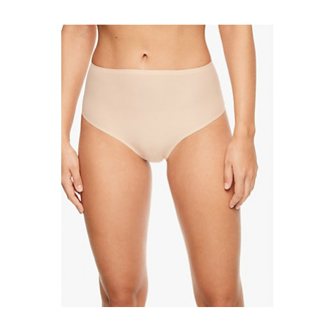 Chantelle Soft Stretch High Waisted String Briefs, Beige Nude